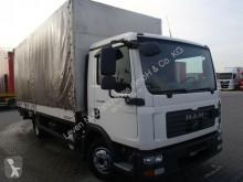 MAN ponyvával felszerelt plató teherautó TGL 8.180 4X2 BB