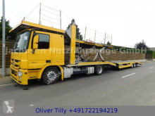 Camion porte voitures occasion Mercedes Actros1841*Eur5*7er Zug*Seilw.Anhg. FVG FS 14B2