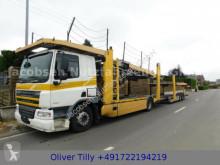 Gebrauchter Autotransporter DAF CF*Euro5*Schalter*KTT Vario- Variotrans 10Fz