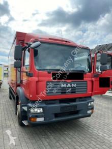 Camión caja abierta transporte de bebidas MAN TGM 18.330LL Schwenkwand Getränke LBW