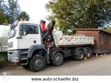 Camion MAN TGA 35.480/ 8x6/Kran ca. 21 m multibenne occasion