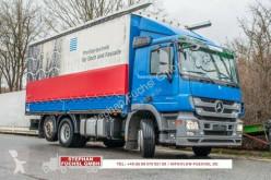 Mercedes LKW Pritsche und Plane