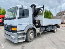 Camion Mercedes Atego 1828 plateau ridelles occasion