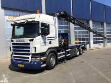 Ensemble routier Scania R 380 plateau occasion
