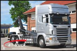 Camion polybenne Scania R 480LB 6X2, Meille, etade, Xenon,