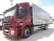 Iveco ponyvával felszerelt plató teherautó Stralis Iveco - STRALIS 400 CENTINATO M 7.70 PEDANA 2015 EURO 6 - CENTINATO ALLA FRANCESE
