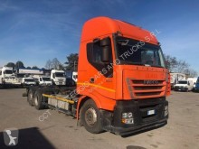 Iveco container truck Stralis AS 260 S 45 Y/FP-CM