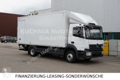 Camião Mercedes Atego 1221L Koffer 6,1m MOTOR 15Tkm LBW Klima furgão usado