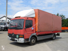 Camion plateau occasion Mercedes Atego