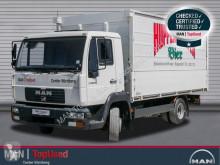 camion MAN 8.185 LLC Getränkekoffer AHK Maul und Kugel