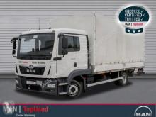MAN TGL 8.180 4X2 BL Standheizung AHK Klima LBW 1 Bett truck used tarp