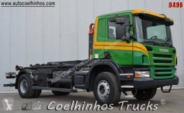 Lastbil containertransport Scania P 340