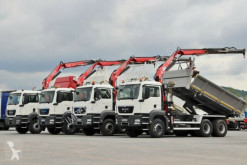 Camion MAN TGS 26.360/3 SIDED TIPPER/BORTMATIC+CRANE FASSI platformă second-hand