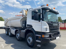 Scania half-pipe tipper truck P 410