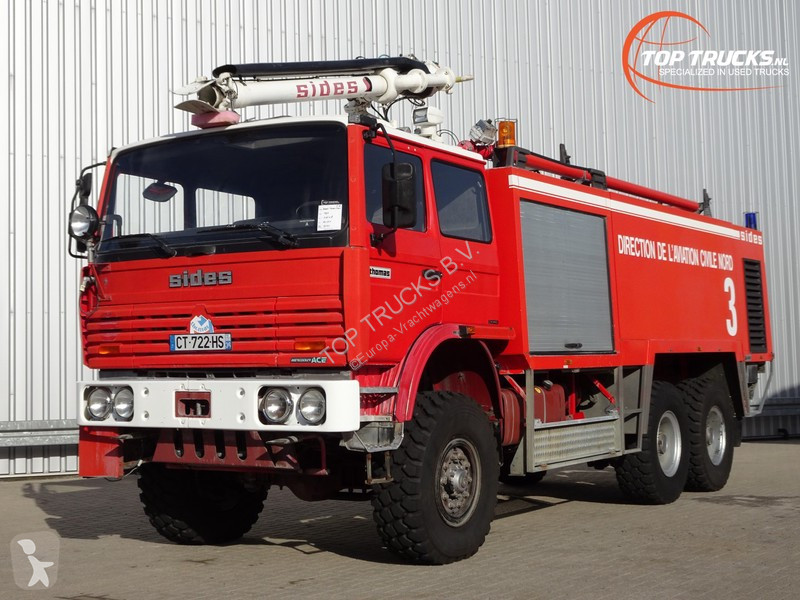 Vedere le foto Camion Renault Thomas Sides VMA 68 Foam Crash-tender, Airport, Flughaven, Feuerwehr, Fire truck, Brandweerwagen