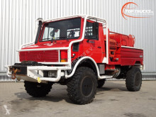Camion Unimog MB U1550 L37 (2150) - (437) Fire Truck - Lier, Winch, Winde - Watertank - Pomp - Dingo Achsen! - Expeditievoertuig, Camper pompiers occasion