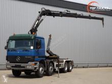 Voir les photos Camion Mercedes 3235 - Hiab 16TM kraan, Crane, Kran - 21t. Haakarm, Hooklift, Abrolkipper