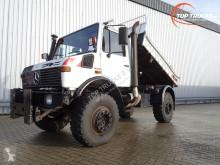 Used three-way side tipper truck Mercedes Unimog U 1250 427/13 Benz - - kipper - 6 cylinder