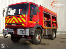 Camion pompiers Iveco 95 E21 feuerwehr - fire brigade - brandweer - Rescue-Vehicle -3500 ltr. water tank- pomp - Lier, Wich, Winde