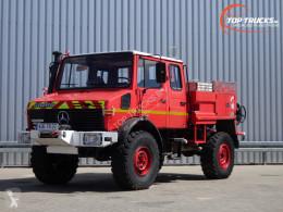 Camión bomberos Mercedes Unimog U 1550 L Unimog U1550 L (437) Benz, Doppelkabine, SIDES CCF2000 ltr. - Expeditievoertuig, Camper