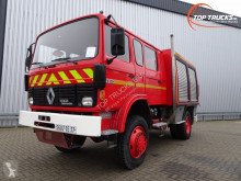 Kamyon itfaiye ikinci el araç Renault S170 fire brigade - brandweer - feuerwehr - watertank 2.500 ltr. - pomp!