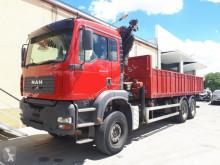 камион MAN 310 6X4 VOLQUETE, AÑO 2003, PALFINGER PK 20002 + BIVALVA