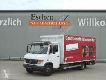 Camião Mercedes 818 D Vario, Böse Schwenkwandkoffer, MBB-LBW furgão porta bebidas usado