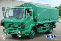 Camión Mercedes 1017/4x2/Plane/nur 77 TKM/Blattfederung/Schalter lona corredera (tautliner) usado