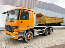 Mercedes three-way side tipper truck Actros 2640 6x4 2640 6x4, Grüne Plakette