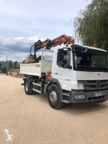 Mercedes Atego 1624 truck used two-way side tipper