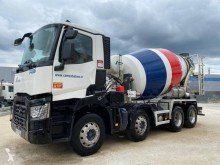 Renault Gamme D truck used concrete mixer