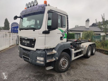 Camion polybenne occasion MAN 26.480