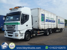 Iveco Stralis trailer truck used BDF