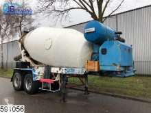 félpótkocsi Guegan 12 GL 12000 Liter Beton / Concrete mixer, Steel suspension