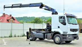 ciągnik siodłowy Renault PREMIUM 450 DXI Sattelzugmaschine+KRAN/FUNK