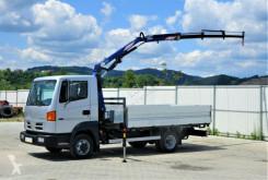 Camión caja abierta Nissan ATLEON 5613 Pritsche 3,60 m + KRAN *Topzustand!