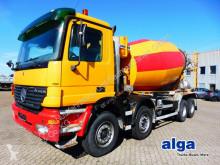 Camion béton toupie / Malaxeur Mercedes 4140 B Actros 8x4, Liebherr 10m³, Schalter