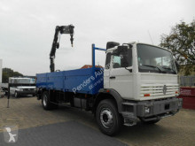 Used flatbed truck Renault G300 AUTOKRAN