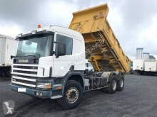 Scania two-way side tipper truck P114
