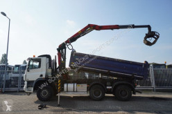 lastbil Ginaf X 3335 2 SIDE TIPPER WITH EPSILON/PALFINGER 0180Z88 CRANE