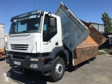 Used two-way side tipper truck Iveco Trakker AD 410 T 44