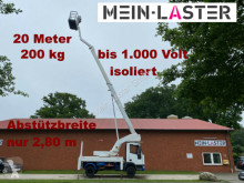 Camion nacelle Iveco Bison 20 Meter + seitlich 11,20m 200 kg