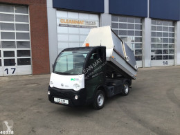 Special vehicles road network trucks E-Worker Electrische Veegvuilkipper!
