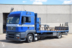 Used flatbed truck MAN TGA 18.360