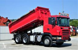 ciężarówka wywrotka trójstronny wyładunek Scania