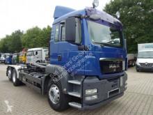 camion MAN TGS 26.400 Abrollkipper MEILLER 6x2 Lenk-Lift