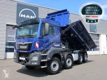 Camião MAN TGS 35.500 8X4 BB E6 Meiller Bordmatik tri-basculante usado