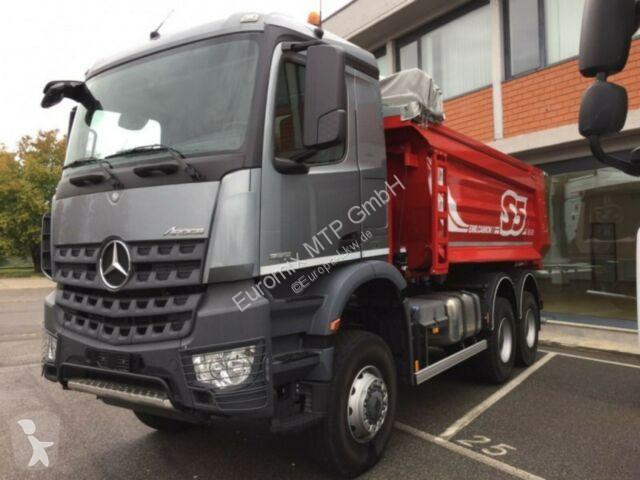 Voir les photos Camion Mercedes 3342 6X6 Mulden Kipper Euromix TM 12m Euro6d