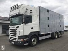 Camion Scania R 560 bétaillère occasion