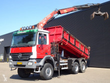 Camion Mercedes 3332 / CRANE + TIPPER / SPRING SUSPENSION benne occasion